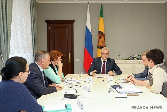 Губернатор рассмотрел вопросы строительства центра ПЭТ КТ в Пензенской области